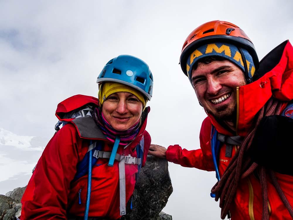 Am Gipfel des Großen Grünhorns! :)