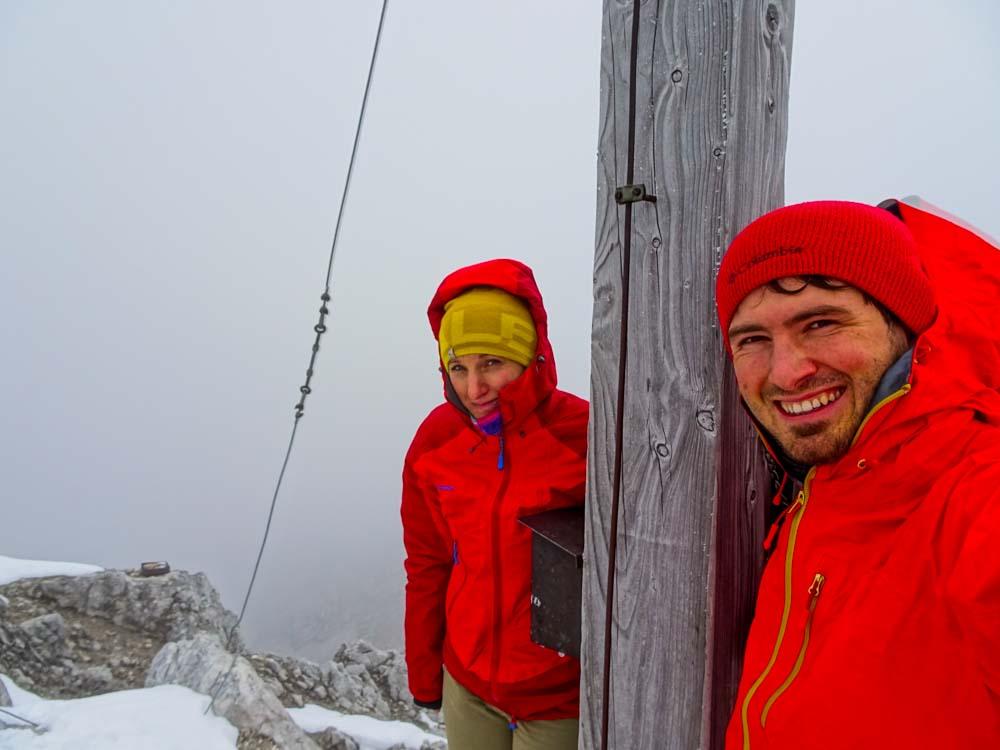 Gipfel Nr.2 - Kälte hält die Freude in Grenzen