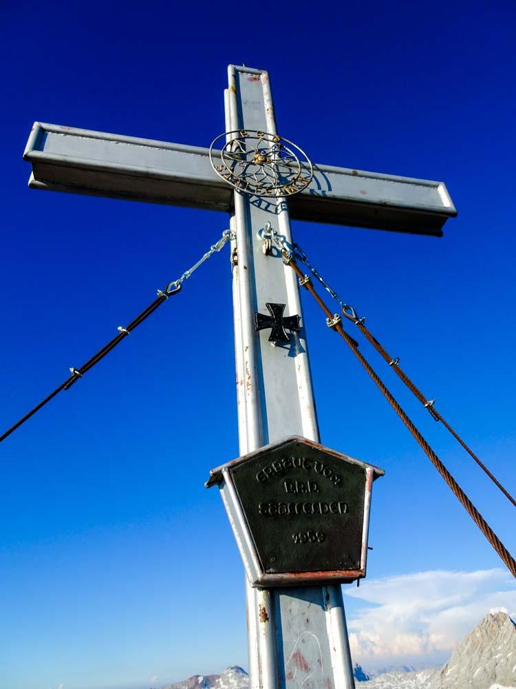 Breithorn Gipfelkreuz :)