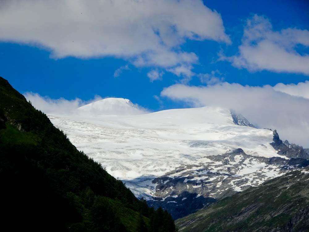 Der Gipfel des Großvenedigers - rechts der Kleinvenediger.