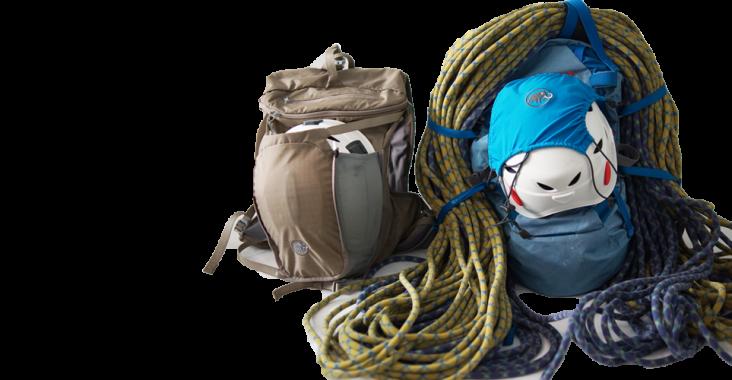Klettergurt Rucksack : Projekt gipfel ein blick in rucksack und kofferraum