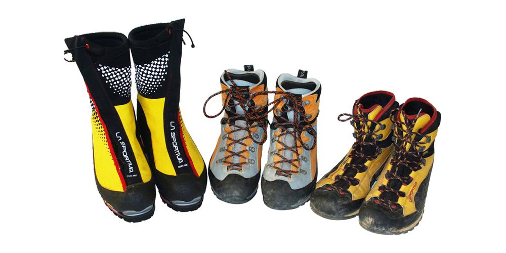 Schuhe für Hoch- und Alpintouren