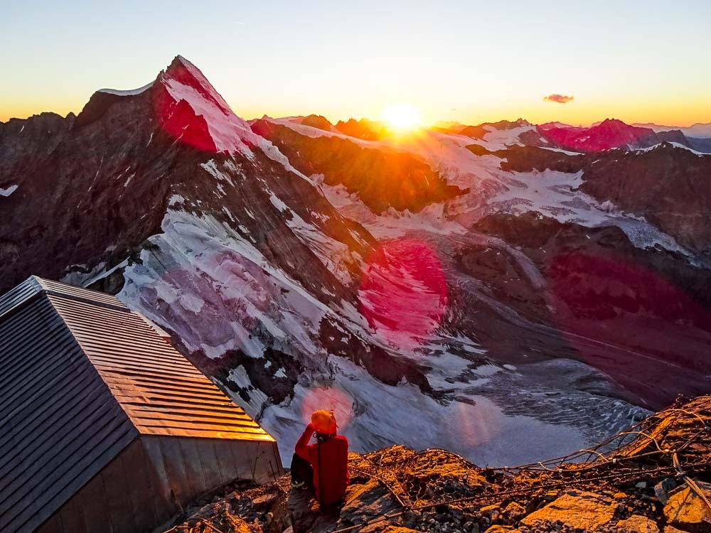 Alpintour auf das Matterhorn über den Liongrat (Italien)