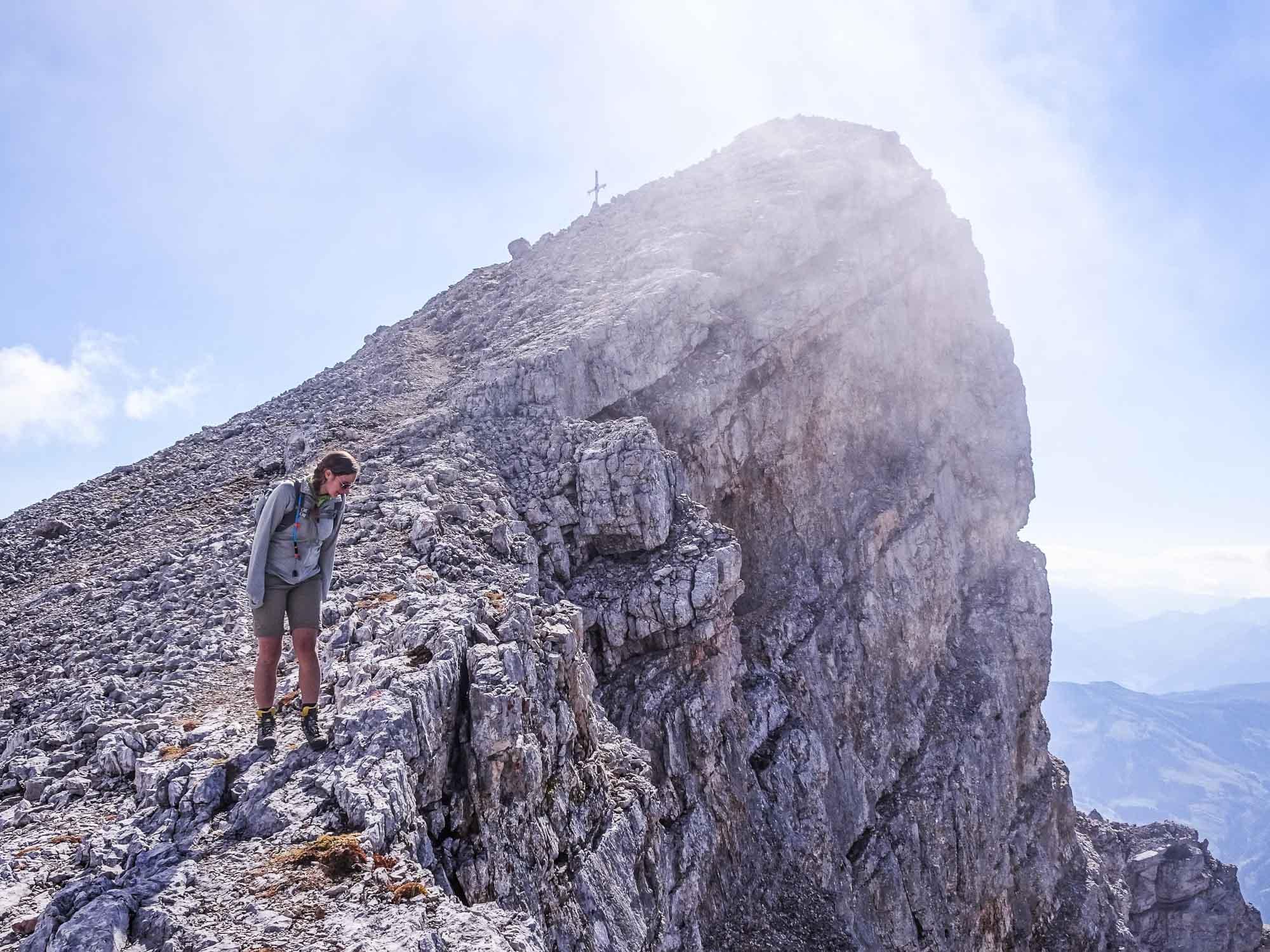 #5 Trittsicherheit und Schwindelfreiheit trainieren (ausgesetzter Steig)