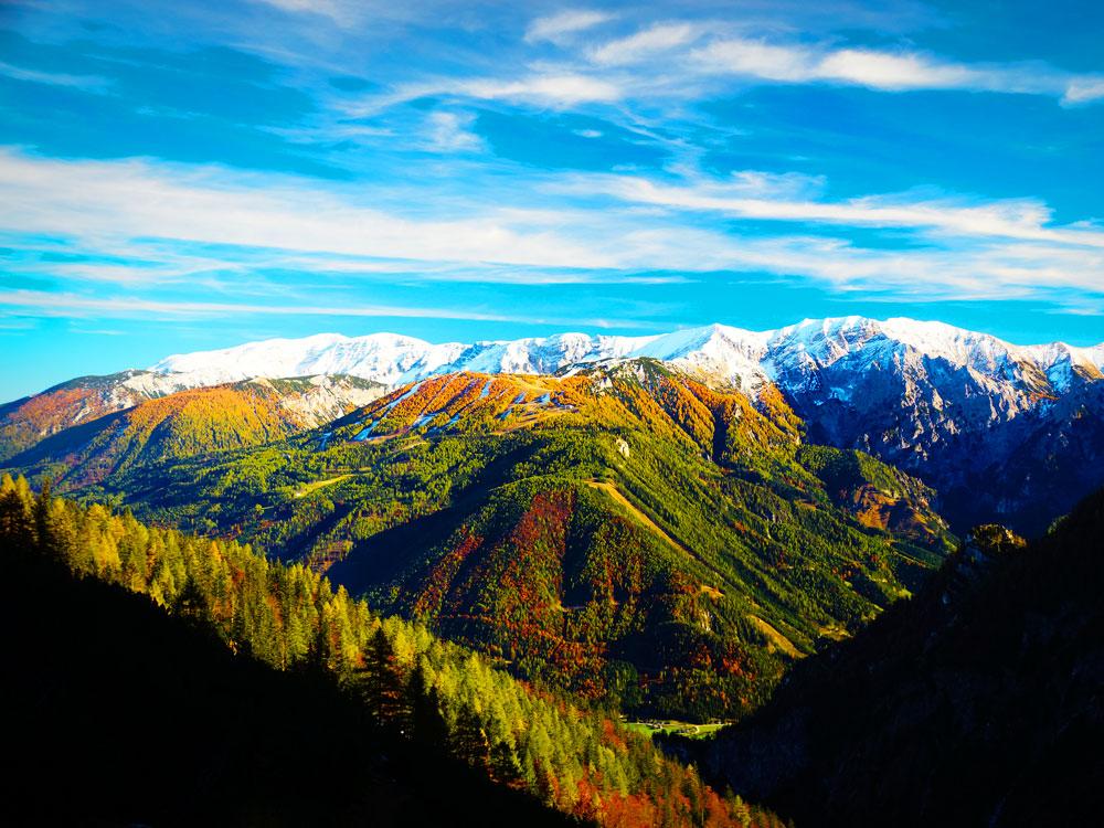 Bergtour am großen Priel mit Überschreitung von der Welser Hütte zum Prielschutzhaus (Oberösterreich)