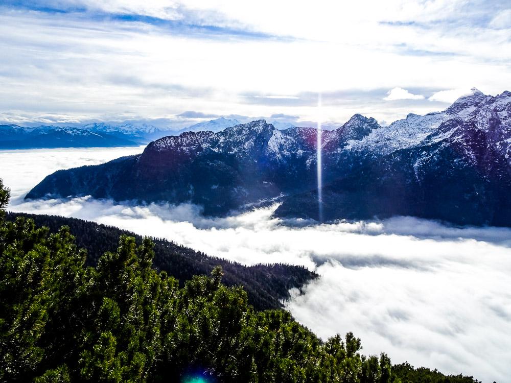 Leichte Alpintour Hochkranz über Ostgrat (Salzburg)