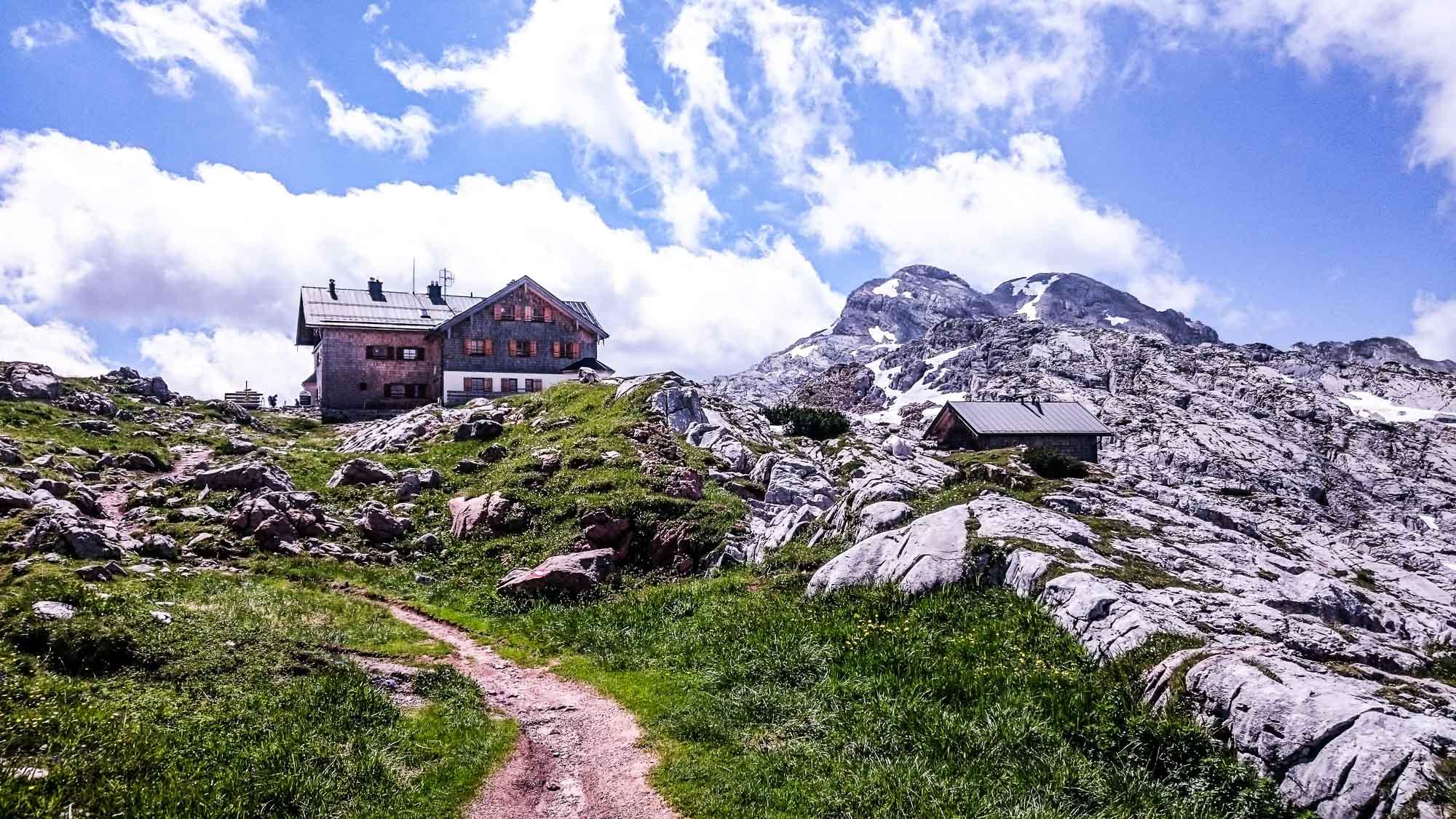 Bergtour auf den großen und kleinen Hundstod