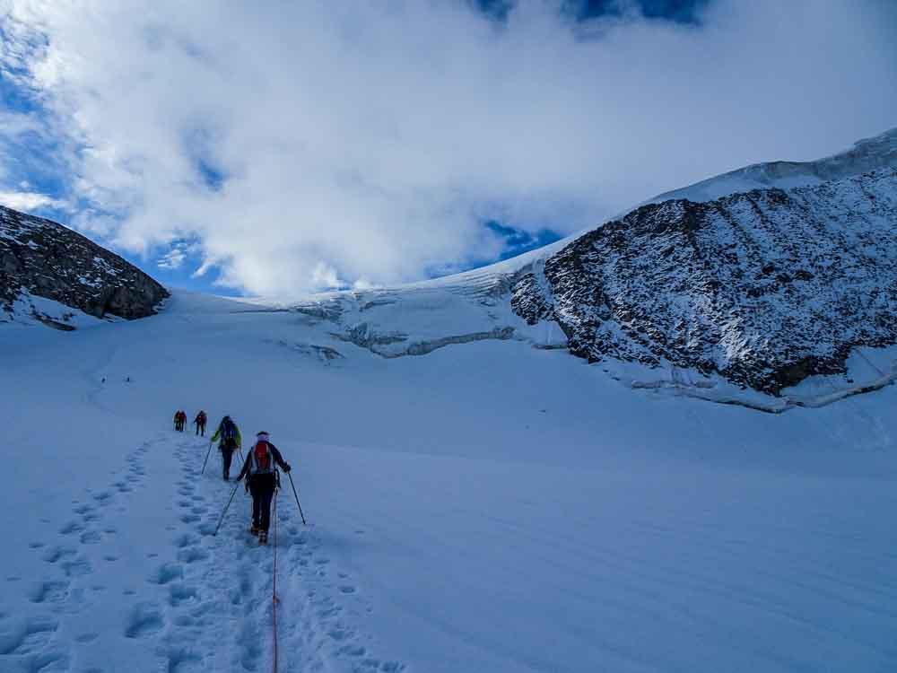 #11 Sicherungstechnik & Verhalten am Gletscher