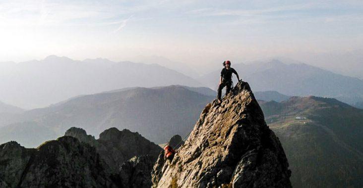 Kletterausrüstung Salzburg : Klettersteig königsjodler d auf den hochkönig salzburg you