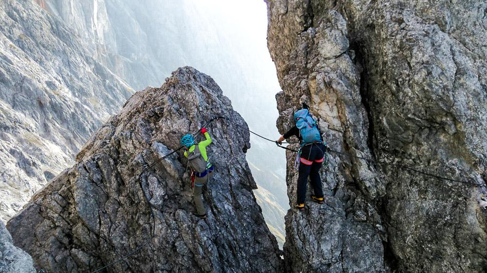 Klettersteig Bandschlinge : Klettersteig königsjodler d auf den hochkönig salzburg you