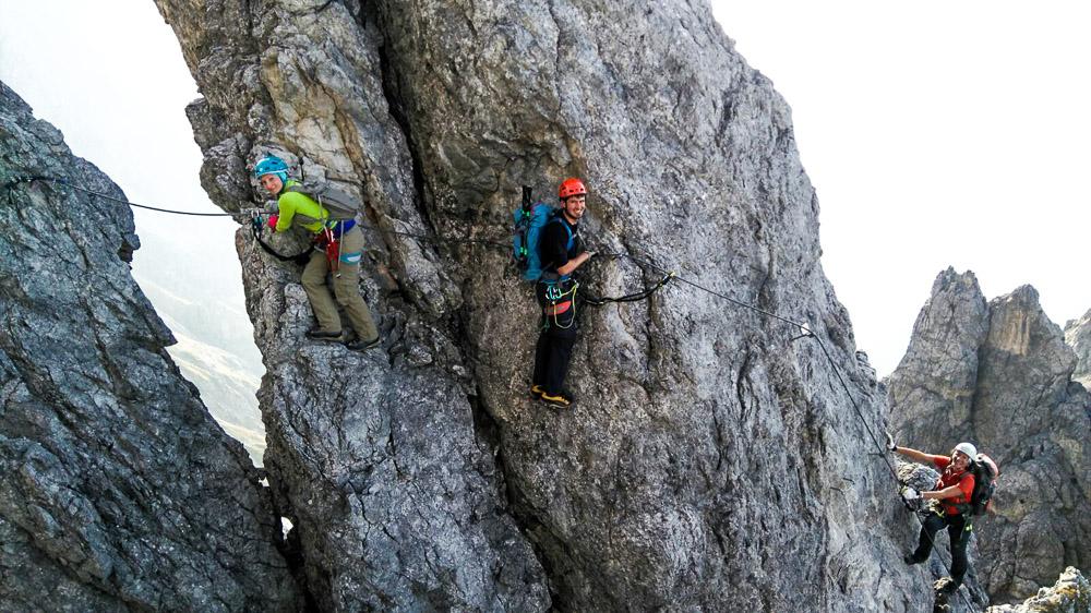 Klettersteig Hochkönig : Klettersteig königsjodler d auf den hochkönig salzburg you