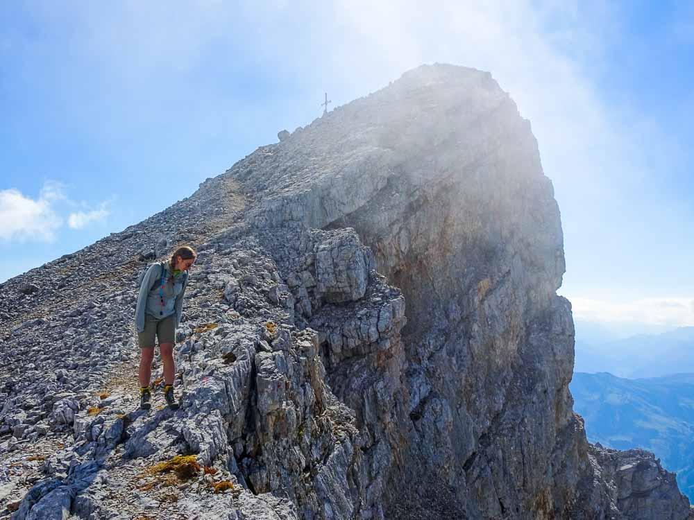 Klettersteig auf das Selbhorn über Herzogsteig (C/D) (Salzburg)