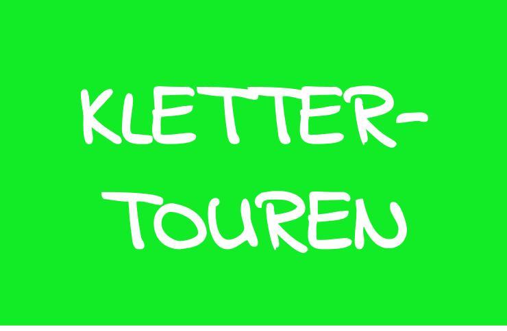 Kletter Touren