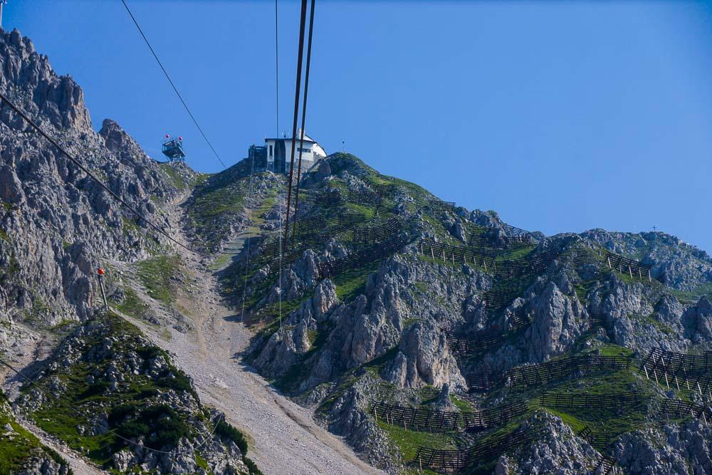 Bergbahn hinauf ins Karwendel