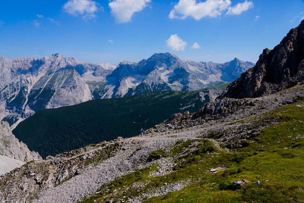 Aussicht im Karwendel