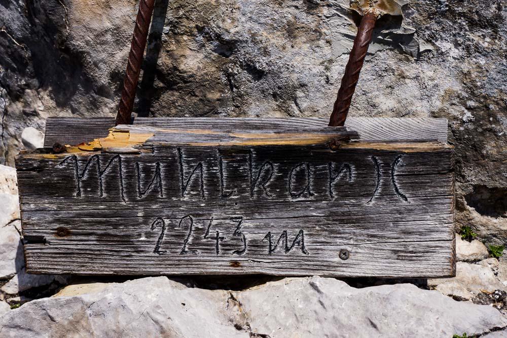 Auf 2243 Meter im Mühlkar