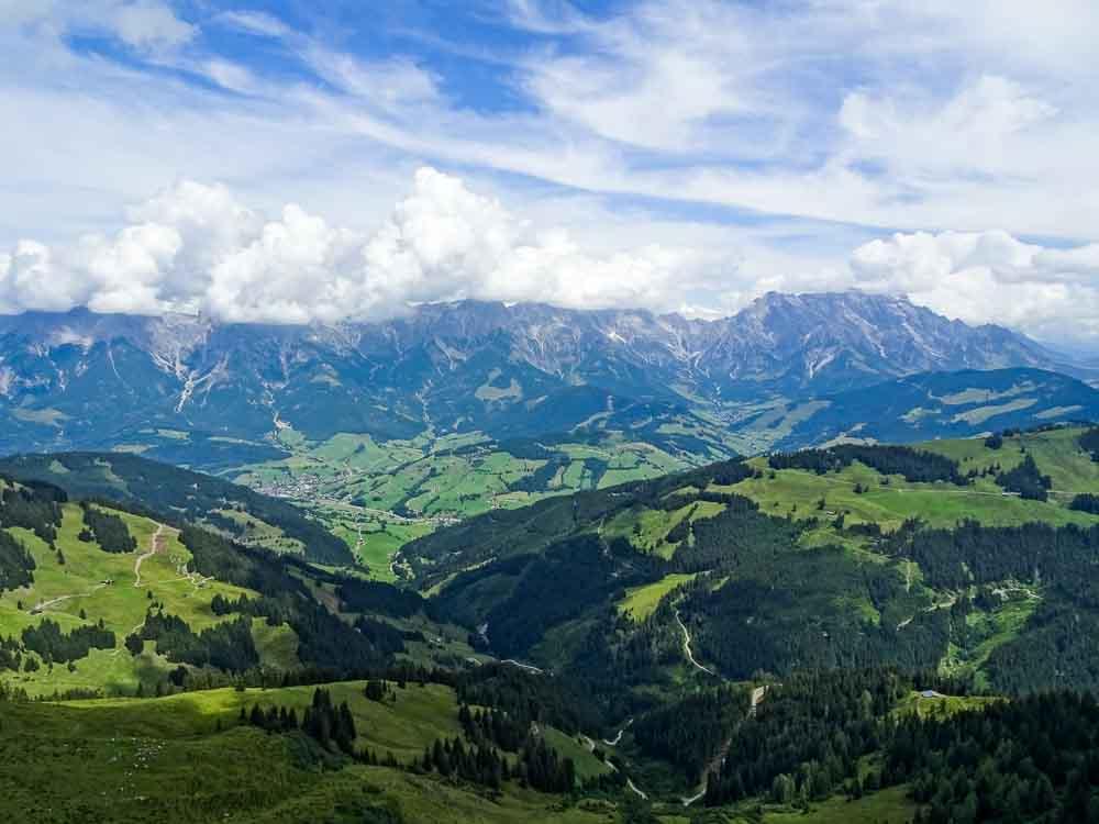 Wanderung zur Schwalbenwand und dem Schönwieskopf (Salzburg bei Zell am See)