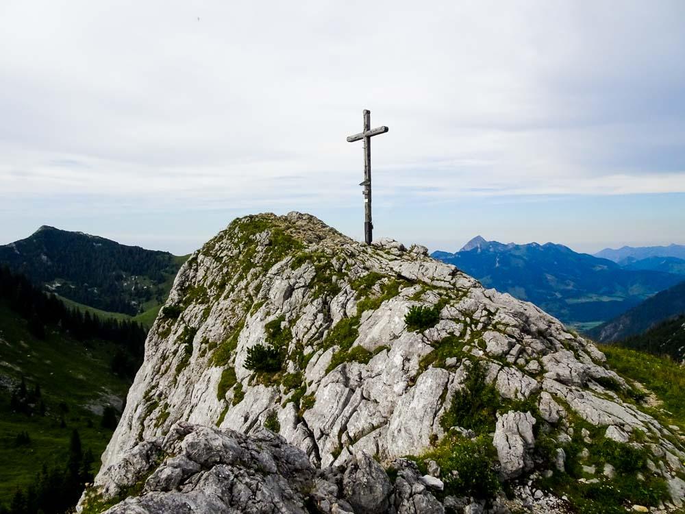 Wander- und Klettertour auf den Taubenstein und die Rotwand (Spitzingsee / Bayern)