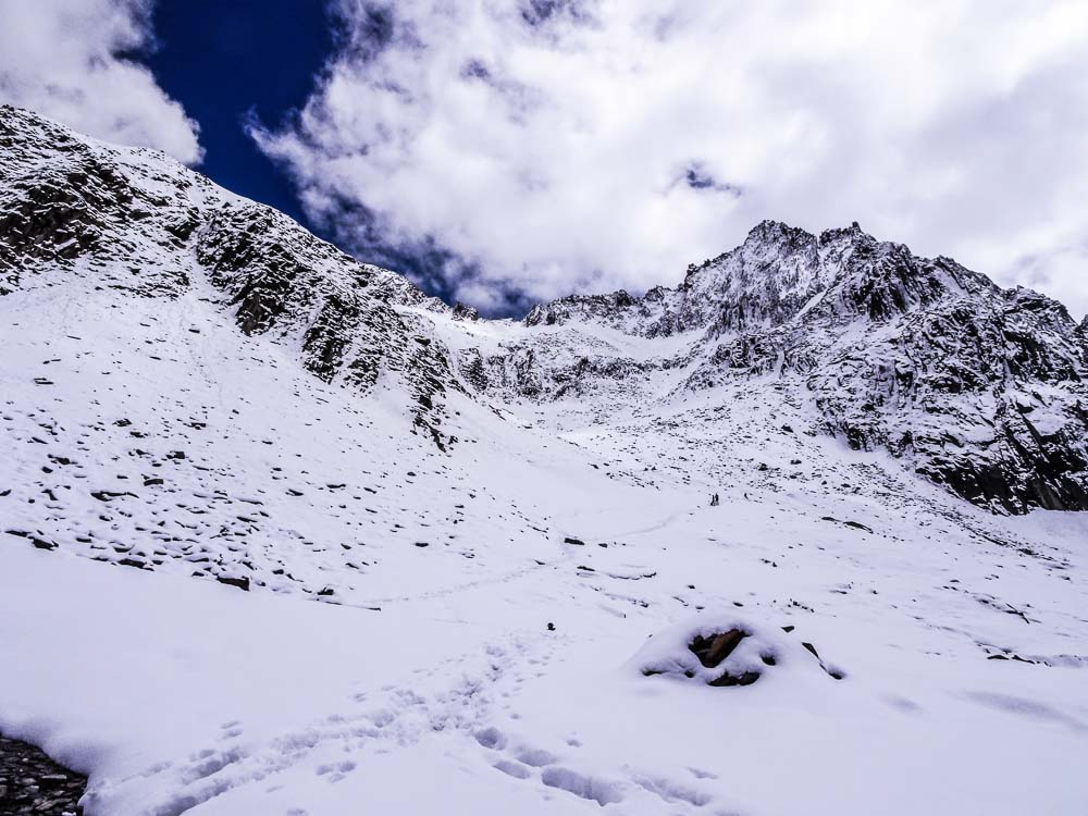 Eine rauhe Berglandschaft - wunderschön.