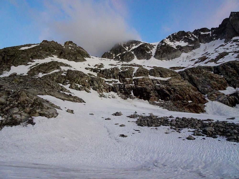 Am Talboden entlang zur Riepenscharte.