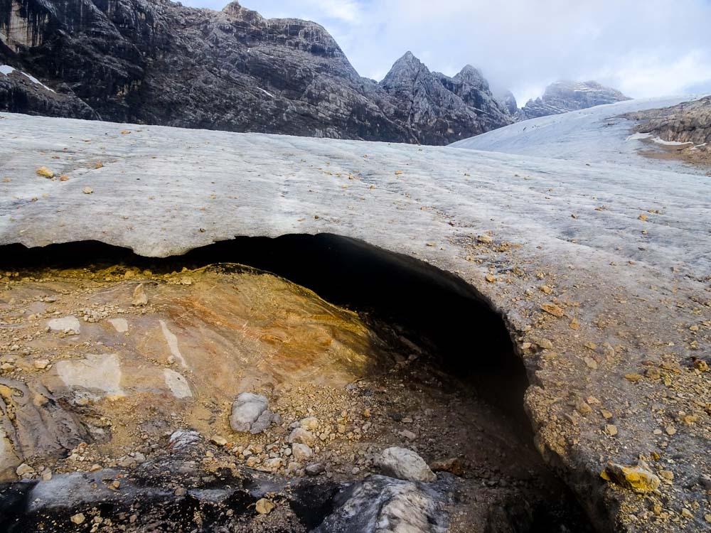 Das Gletschertor.