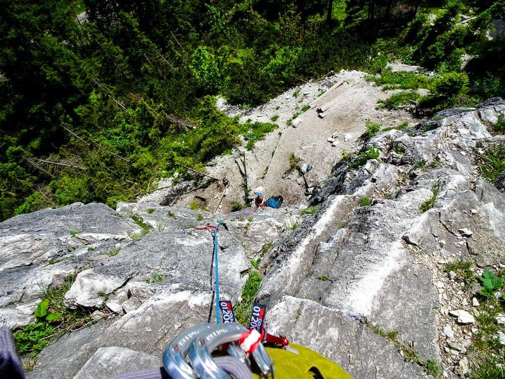 """#14 Seilklettern """"Von der Halle an den Fels"""" und alpines Sportklettern für Einsteiger"""
