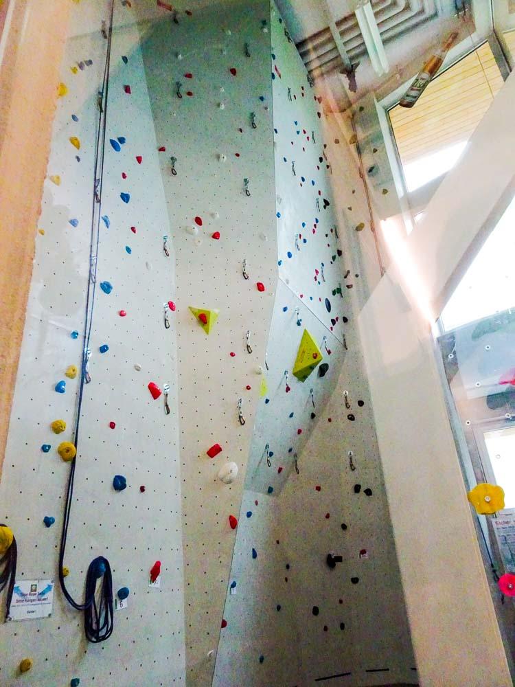 Ein Toprope-Seil ist die sicherste Art zu klettern