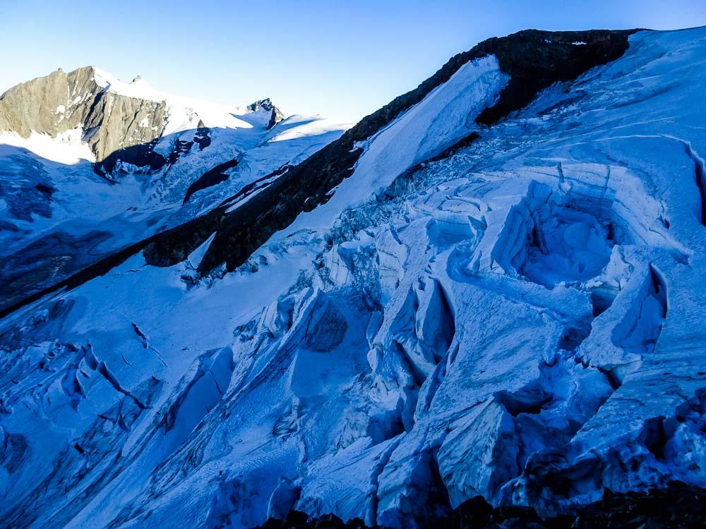 Gletscherbruch auf der anderen Seite :O