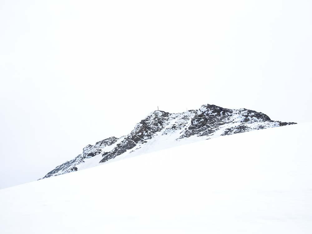 Der Gipfel in Sicht!