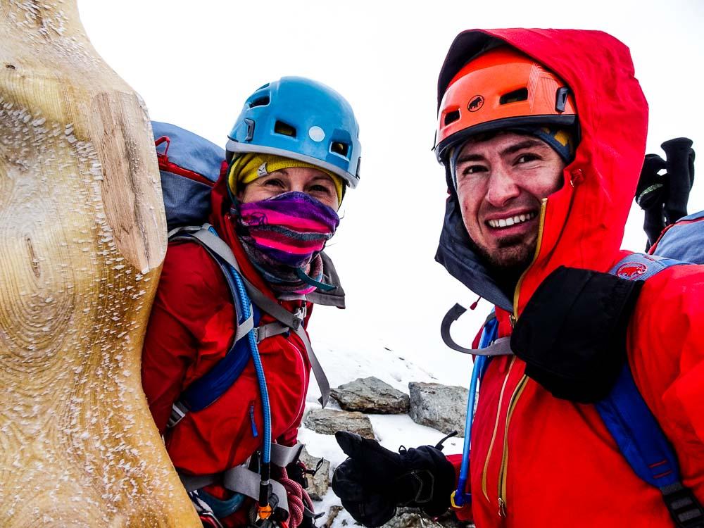 Der Gipfel der Jungfrau.