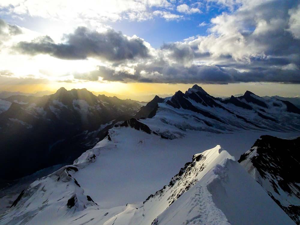 Mönch über Südostgrat Normalweg (Schweiz / Berner Alpen)