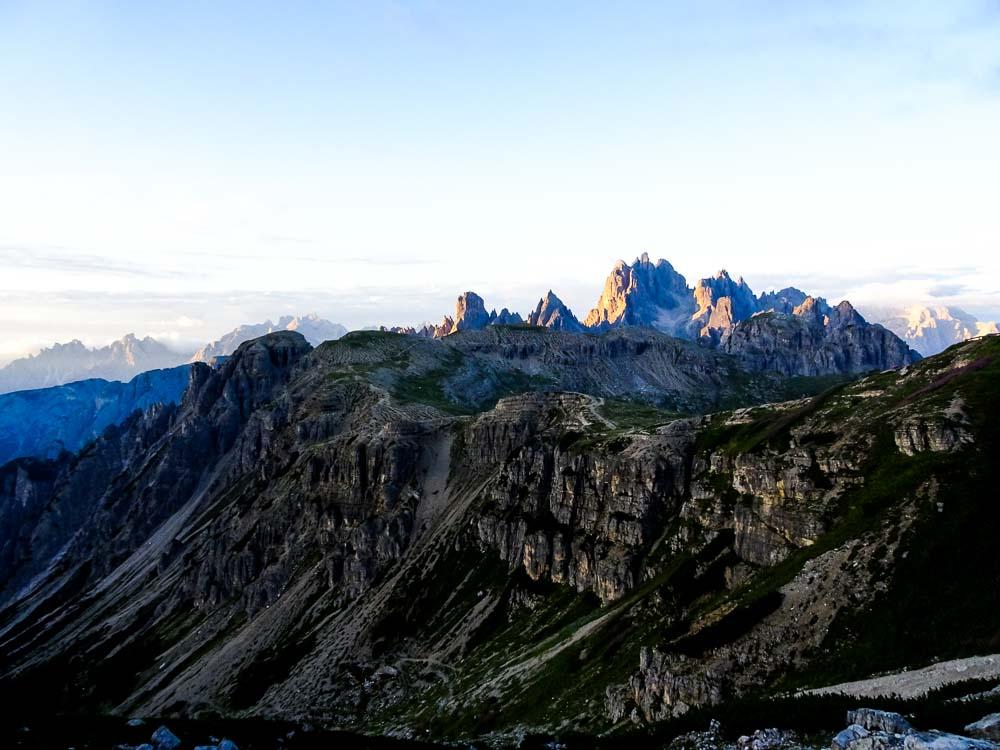 Die Dolomiten erwachen zum Leben :)