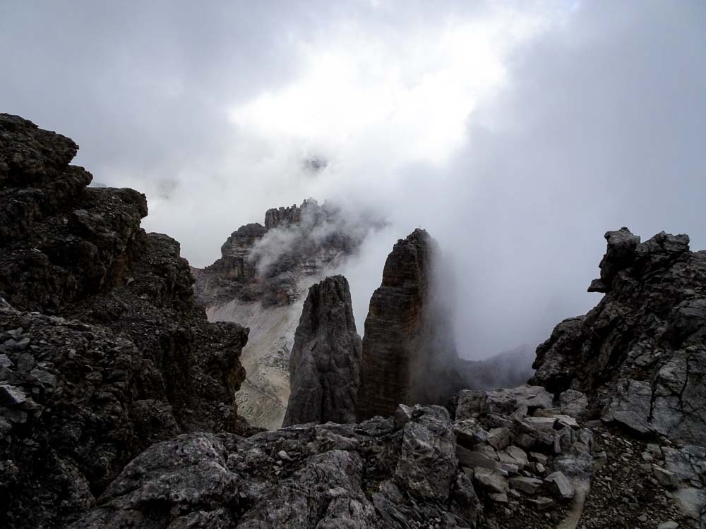Große Zinne (Italien) über Südostwand Normalweg (-IV)
