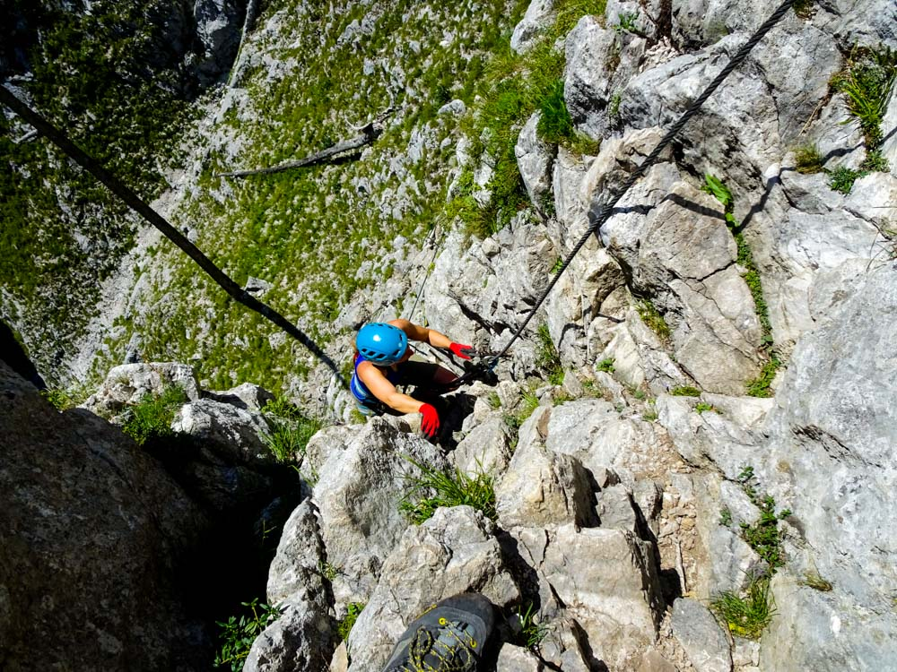 Klettersteig Mondsee : Drachenwand klettersteig c d mondsee oberösterreich you love