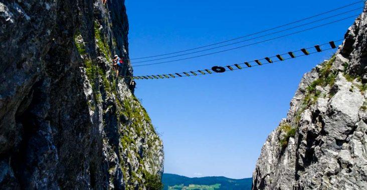 Klettersteig Wolfgangsee : Drachenwand klettersteig c d mondsee oberösterreich you love