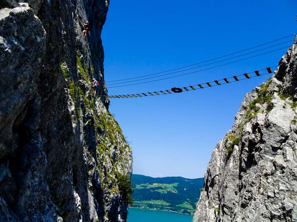 Drachenwand Klettersteig C/D (Mondsee/Oberösterreich