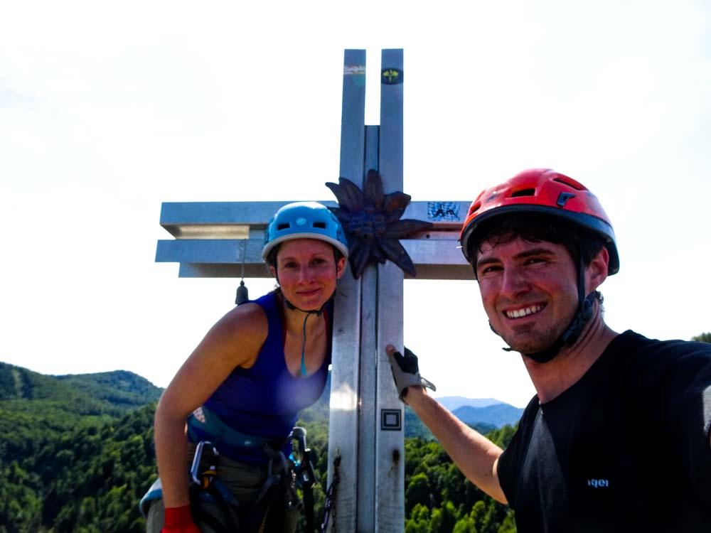 Endlich das Gipfelkreuz :)