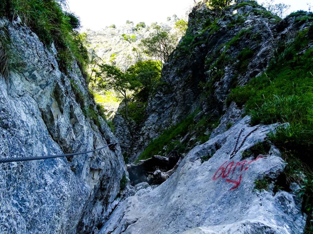 Man kann hier auch klettern