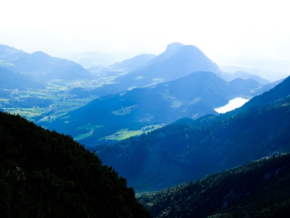 Aussicht auf den Hintersteiner See