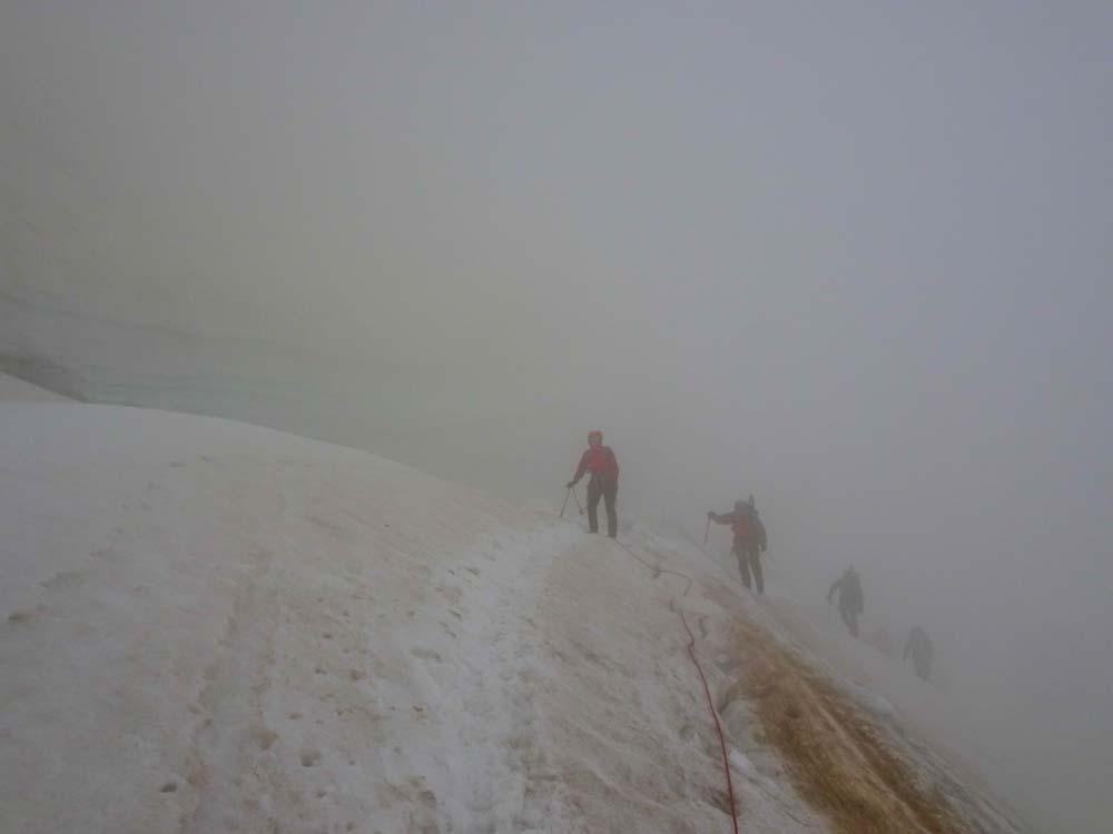 Der nächste Tag - Nebel & Sturm