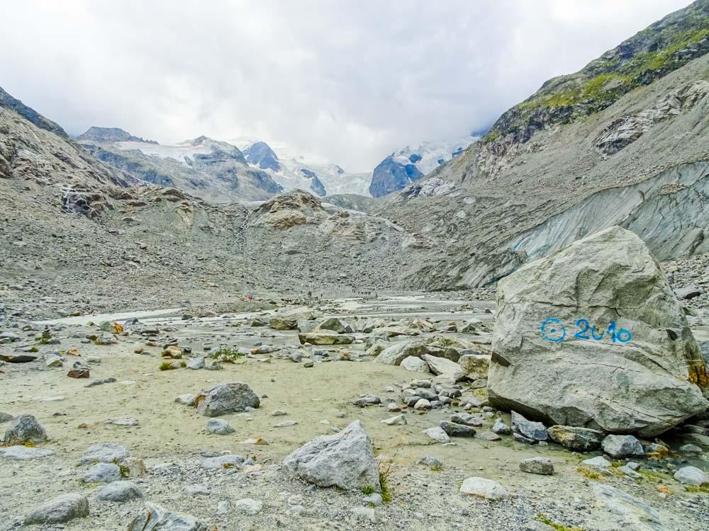 Da war der Gletscher noch 2010 :O