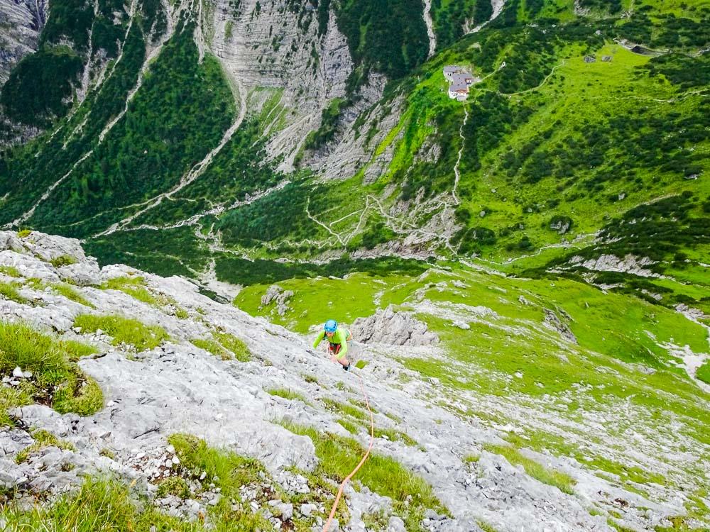 Plattigspitze Ostgrat (Lechtaler Alpen/Tirol)
