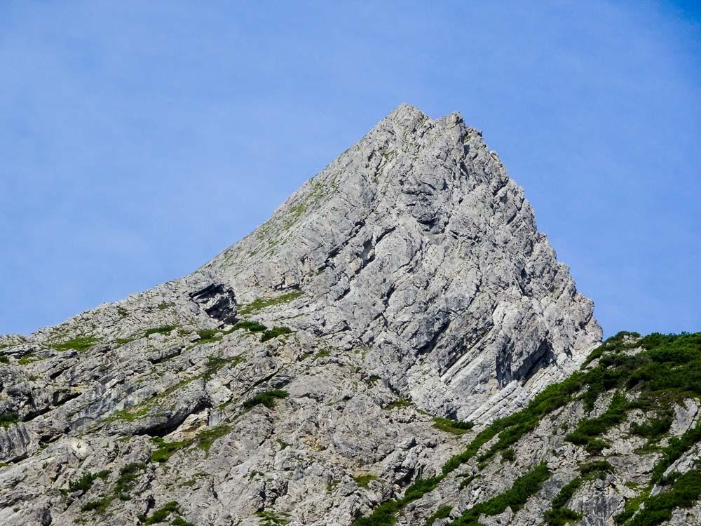 Unser Ziel - der Ostgrat der Plattigspitze