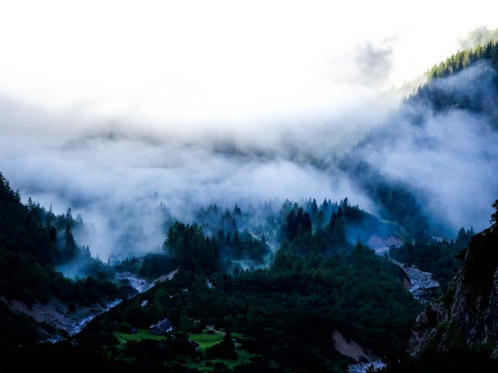 Der leichte Nebel sieht super aus :)