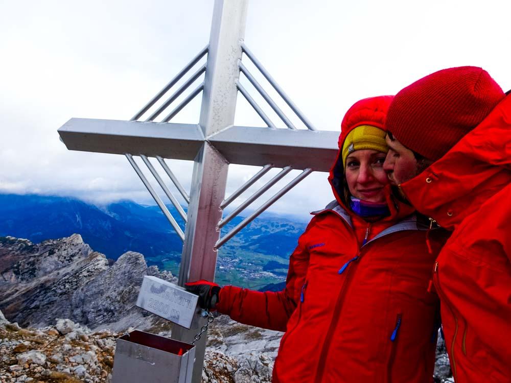 Gipfel Nr.3 - Kuchelhorn: Die Motivation ist am Boden - es war eine sehr lange Tour