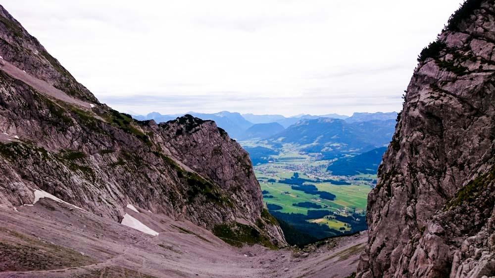 Grimming über Nordanstieg (Dachsteingebirge / Steiermark)