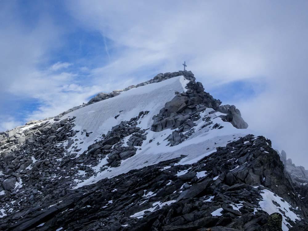 Schwarzenstein und westl. Floitenspitze (Zillertaler Alpen/Tirol)