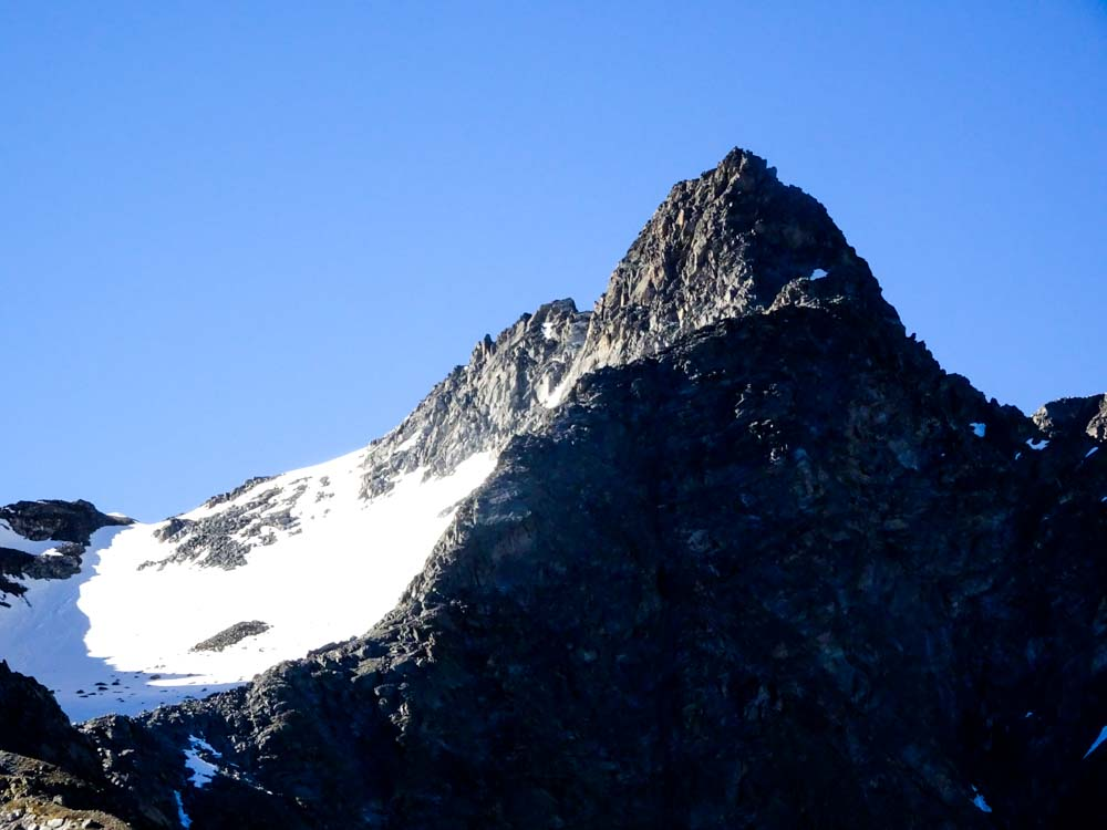 Der letzte Aufschwung zum Riffljoch (rechter Bildrand) als Übergang ins Kaunertal.