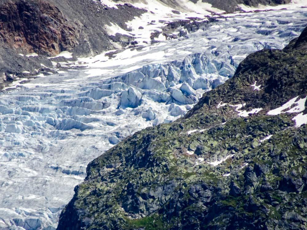 Der Eisbruch des Gepatschferners